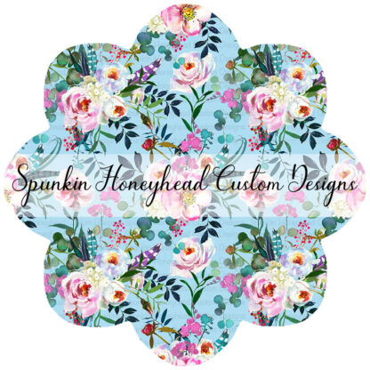 Round 40 - Summer Blooms - Feathered Floral